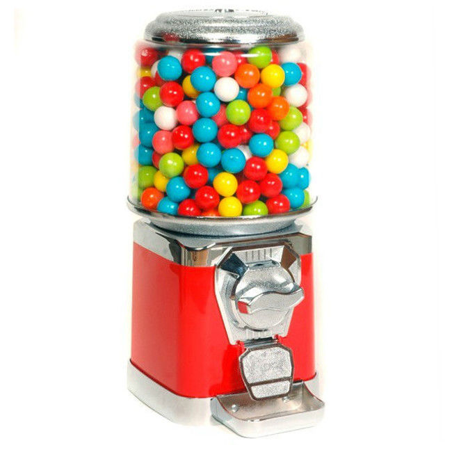 1.4 Inch 6 Coins Reeses Round Candy Exchange Vending Machine