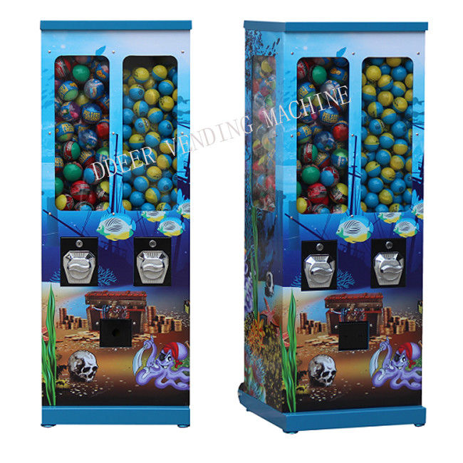 125cm Colorful PMMA Metal 1 Inch Capsule Vending Machine